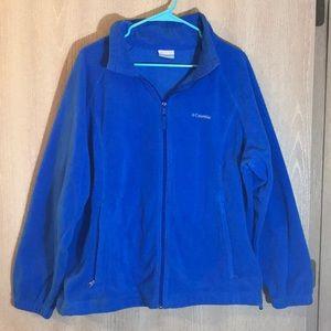 Plus Size Columbia Three Lakes Fleece Jacket